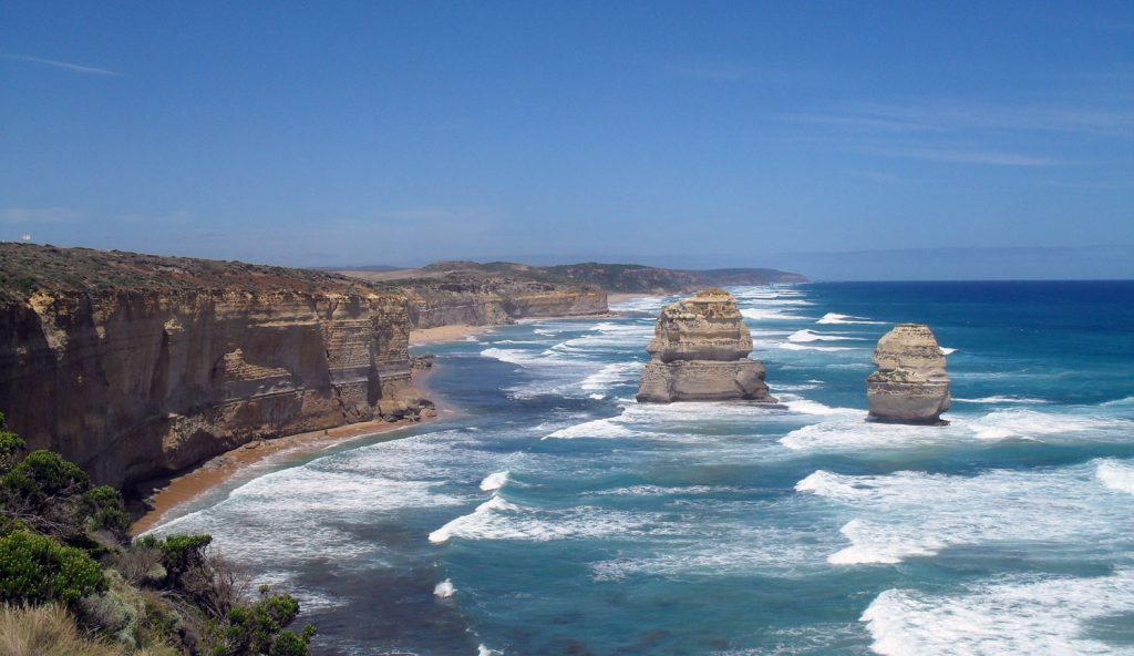 The beauty of the Great Ocean Road