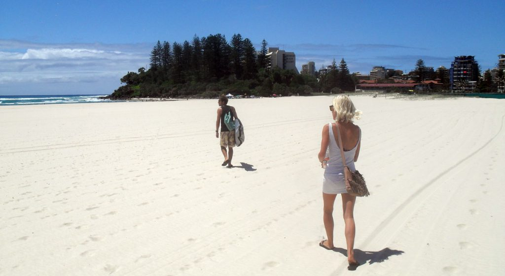 Backpacking Coolangatta