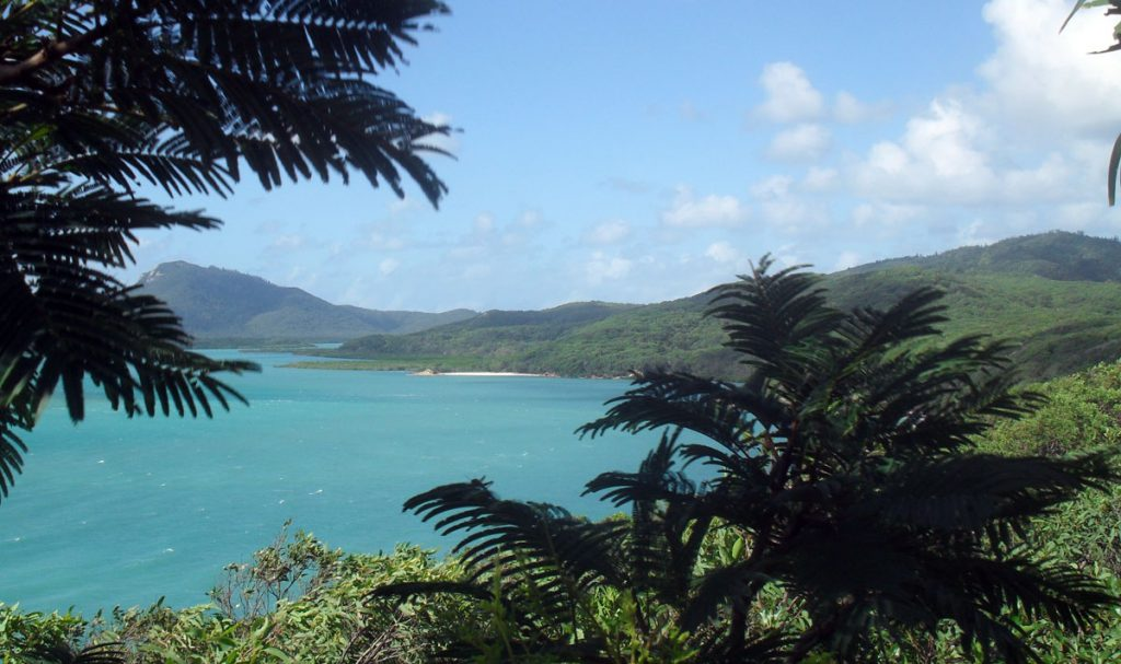Backpacking in the Whitsundays