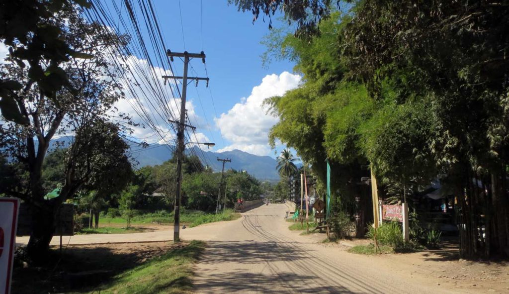 Road in Pai